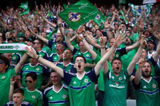 Un suporter al Irlandei de Nord a murit, in Franta, la UEFA EURO 2016. Barbatul era beat si a cazut peste o balustrada