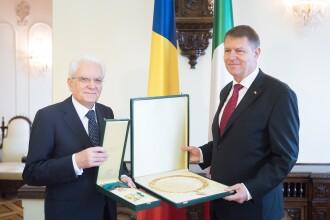 Presedintele Italiei, intalnire cu Iohannis la Cotroceni. Mattarella: Italia sustine Romania pentru intrarea in Schengen