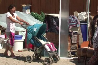 17 persoane au ramas sub cerul liber dupa ce au fost evacuate de proprietarul casei in care locuiau abuziv