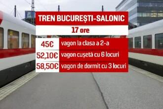 De vineri, veti putea merge cu trenul de la Bucuresti in Grecia. Cursa surpriza pregatita de CFR din luna septembrie