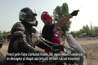 Proiectul la care participa 300 de motociclisti din toata tara,