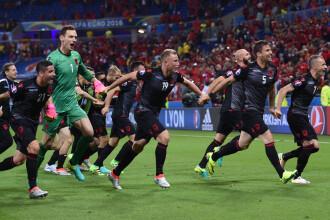 ROMANIA - ALBANIA 0-1, FRANTA - ELVETIA 0-0, REZUMATE VIDEO
