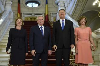 Klaus Iohannis, intalnire cu presedintele Germaniei. Gauck a laudat DNA, dar spune ca n-a inteles votul de pe 5 iunie