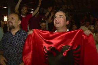 Sadiku, autorul golului Albaniei, comparat cu cel mai mare fotbalist roman: