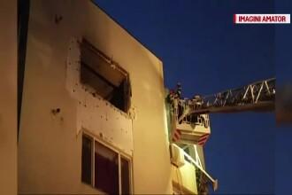 Un barbat din Constanta a suferit arsuri pe 90% din suprafata corpului, dupa ce a provocat o explozie in bloc