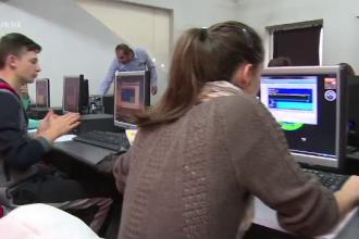 BACALAUREAT 2016. Elevii au sustinut proba de competente digitale.