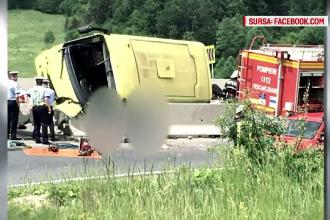 Soferul autocarului implicat in tragicul accident de langa Brasov NU era baut. Ce trebuie sa mai stabileaca acum anchetatorii