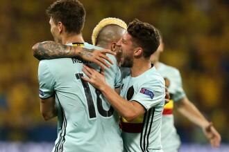 SUEDIA - BELGIA 0-1: REZUMAT VIDEO. Zlatan, ultimul meci la nationala. Ce meciuri se joaca in OPTIMI