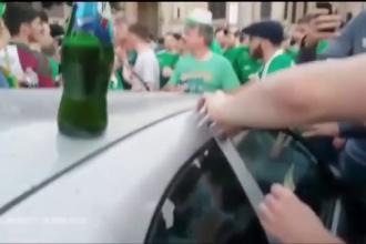 Cei mai tari suporteri de la UEFA EURO 2016. Ce au facut facut fanii irlandezi dupa ce au stricat o masina