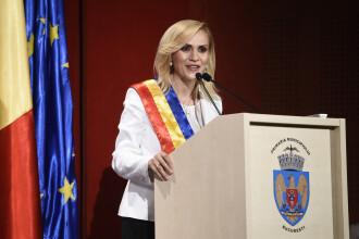 Gabriela Firea este oficial primar al Capitalei.
