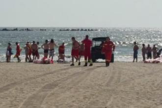 Incidente grave pe litoral. Un barbat a murit si doi sunt in stare critica, dupa ce au ignorat avertismentele salvamarilor