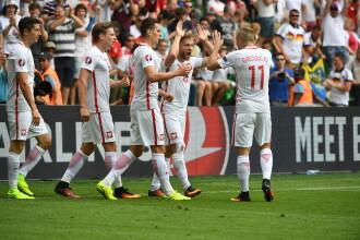 ELVETIA - POLONIA 4-5 (1-1). Polonia e in sferturi la UEFA EURO 2016 dupa lovituri de la 11 metri