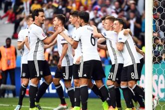 GERMANIA - SLOVACIA 3-0. Nemtii s-au calificat in sferturi dupa ce s-au distrat cu slovacii