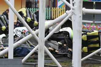 Accident intr-un parc de distractii din Scotia. 10 raniti dupa ce un trenulet dintr-un montagne russe s-a rasturnat