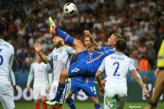 Anglia - Islanda 1-2. Islandezii produc cea mai mare surpriza de la UEFA EURO 2016. Care sunt meciurile din
