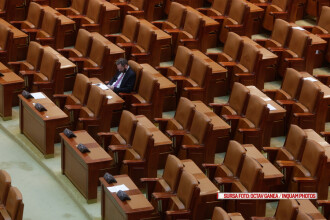 Senatorii si-au luat vacanta mai devreme si au vrut sa ascunda chiulul.