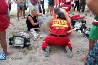 Tragedie pe litoral: un tanar de 20 de ani a murit inecat. Baiatul venise in vacanta cu familia