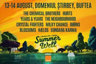 (P) Un festival ca o vacanta! Cine sunt artistii care incing atmosfera la Summer Well 2016
