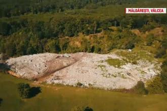 Gunoaie plimbate sute de km pana la groapa neconforma de la Maldaresti. Cine administreaza dezastrul: