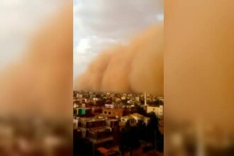 Capitala Sudanului a fost inghitata de o furtuna de nisip. Ce risca cei care se aventureaza pe strazi