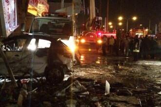 Explozie la un mall din orasul iranian Shiraz. Zeci de oameni au fost raniti