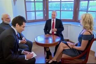Vladimir Putin, fermecat de o jurnalista din SUA.