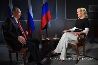 Vladimir Putin a raspuns la NBC acuzatiilor privind amestecul in politica americana.