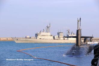 VIDEO. Submarinul nuclear american USS Cheyenne a ajuns in Coreea de Sud. Nava este plina cu rachete Tomahawk
