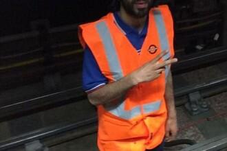 Teroristul in tricoul lui Arsenal lucra la metrou si avea acces la tunelul de sub Parlament: