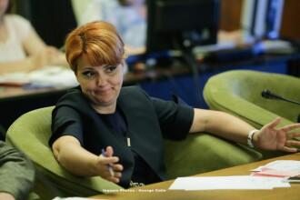 Olguța Vasilescu, audiată în comisia parlamentară, a anunțat majorări de pensii și salarii