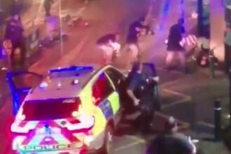 Imagini socante: momentul in care teroristii din Londra sunt omorati. Politia a arestat inca 3 persoane in acest caz. VIDEO