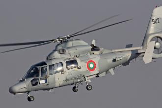Elicopter al armatei bulgare, prabusit in Marea Neagra. O persoana a murit si alte doua au fost ranite