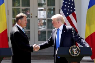 Donald Trump i-a trimis un mesaj lui Klaus Iohannis cu ocazia Zilei Naționale a României