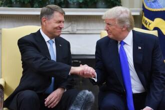 Klaus Iohannis discută cu Donald Trump la summit-ul NATO și îl va invita în România