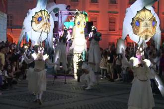 Spectacol total in prima zi a Festivalului de Teatru Sibiu.