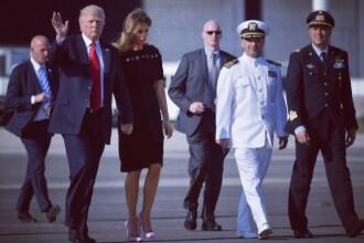 Prima Doamna Melania Trump si Barron s-au mutat la Casa Alba: