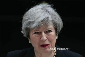 """""""Revoluție"""" împotriva Theresei May la Londra. Brexitul, încă incert, cu doar câteva luni înainte"""
