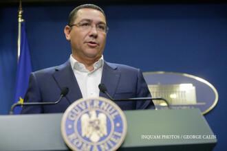 Ponta a anunţat că vrea să dea jos guvernul Dăncilă până la 1 ianuarie