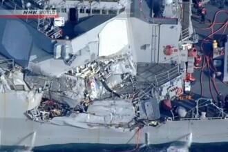 Incident naval grav in largul Japoniei. Un distrugator american s-a ciocnit noaptea cu o nava filipineza
