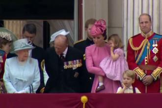 Regina Elisabeta a II-a si-a sarbatorit sambata ziua de nastere.