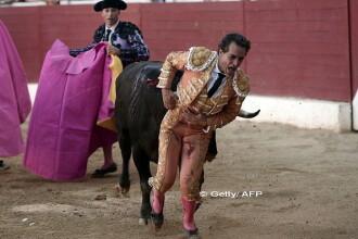 Ultimele cuvinte ale toreadorului spaniol ucis de taur intr-o arena din Franta. Animalul a fost omorat la final
