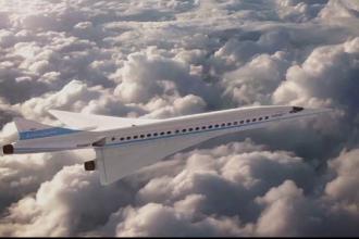Salonul aeronautic Le Borget. Cum arata avionul care ar zbura cu 2300 km/h si drona care transporta oameni