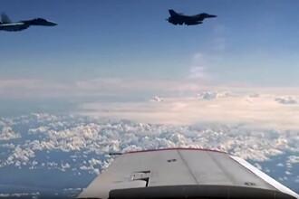 Avioanele NATO au incercat sa intercepteze aeronava care il ducea pe ministrul rus al Apararii.