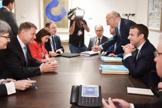 Presedintele Frantei a acceptat invitatia de a veni in Romania. De ce l-a oprit premierul danez pe Iohannis la Bruxelles