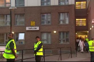 Haos dupa evacuarea a 800 de apartamente din Londra de teama unui incendiu. Locatar: