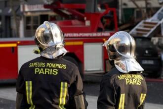 O suta de persoane au fost evacuate dintr-un imobil, in urma unui incendiu