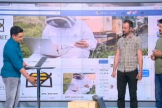 iLikeIT. Cativa senzori conectati la un stup si o aplicatie pentru telefonul mobil pot schimba complet apicultura
