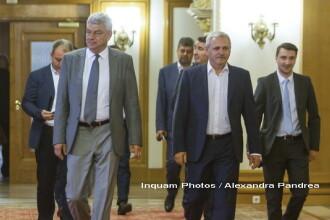 Surse: Dragnea a discutat cu premierul Tudose și Shhaideh la Palatul Victoria
