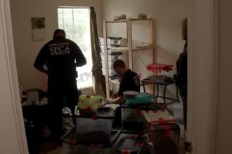 Un barbat evacuat dintr-o locuinta din SUA i-a lasat proprietarului un cadou infricosator. Politia a venit de urgenta