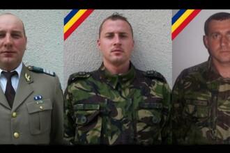 Cine sunt cei trei soldati morti in accidentul din Arges. Ceremonii de comemorare la toate unitatile militare din tara
